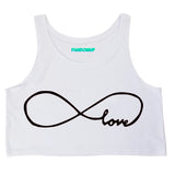 Infinite Love Crop Top