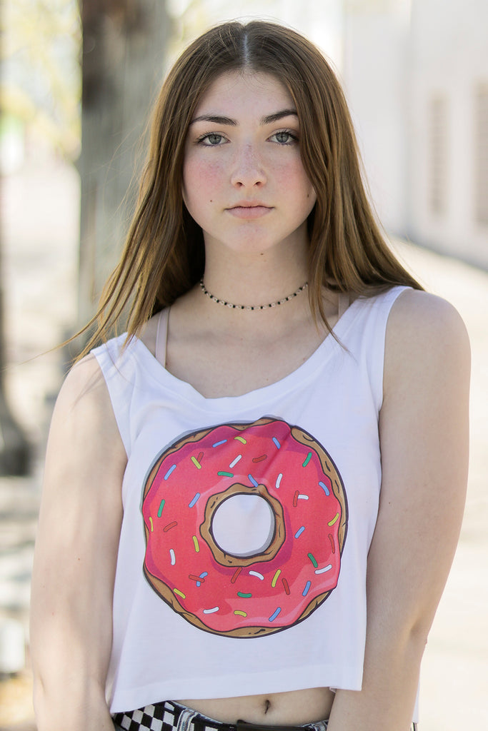 Homer Donut Crop Top