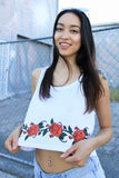 Rose Vine Crop Top
