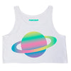 Pink Nasa Crop Top