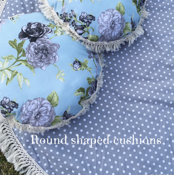 Padded Baby Play Mat -  Midnight Fern