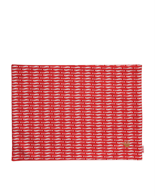 Place Mat Small Dried Sardines front
