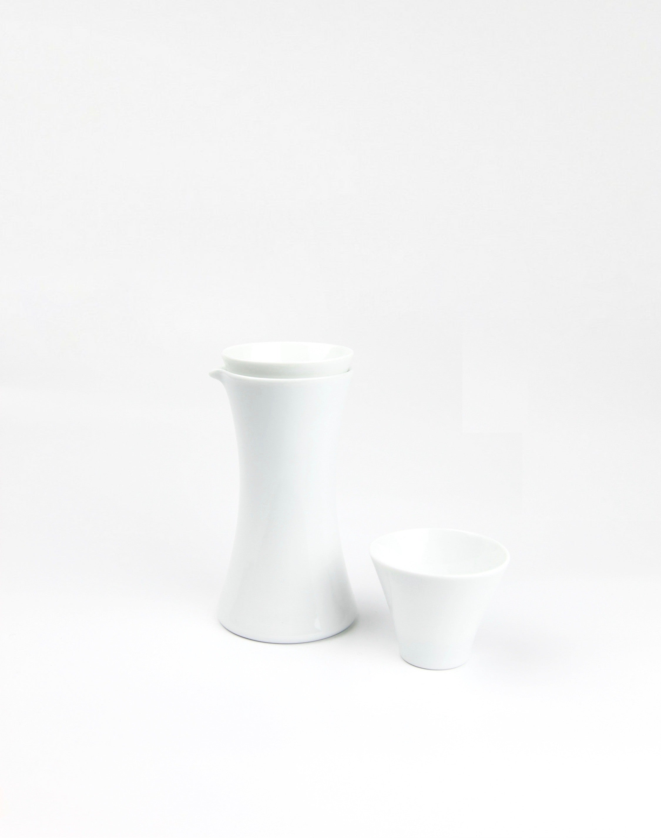 Sake set bottle cup