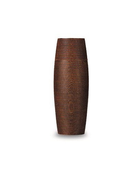Karmi Wooden Tea Canister TARU Brown