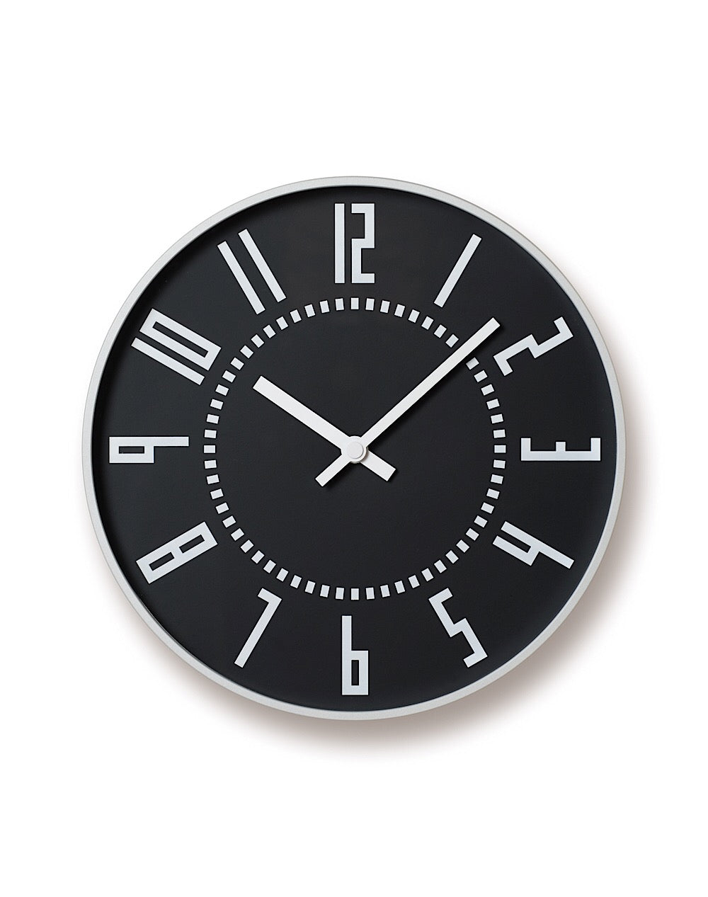 Eki Clock Black