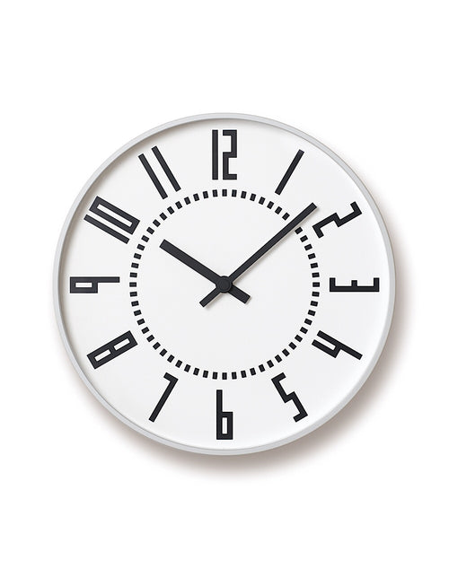 Eki Clock White