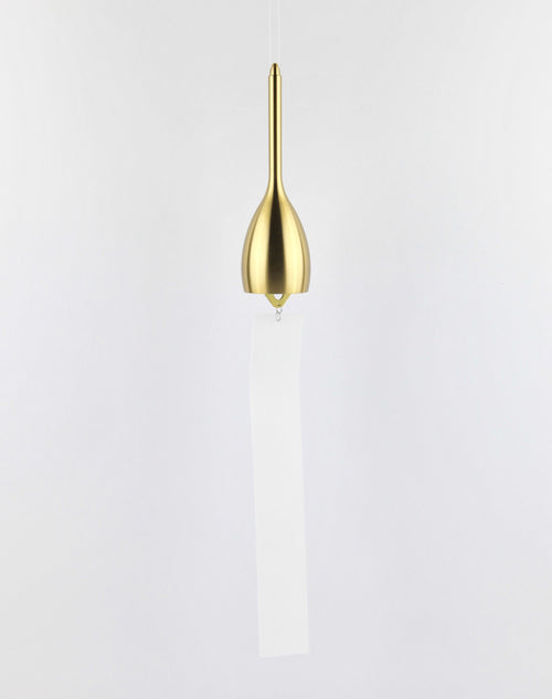 Wind bell Slim gold