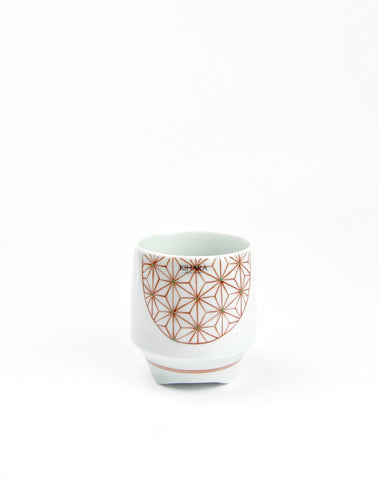 Tea Canister Sakura White