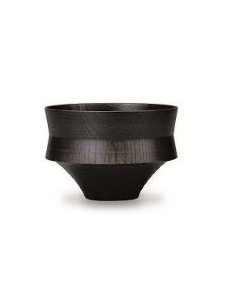 TSUMUGI Wooden Bowl KINE Black