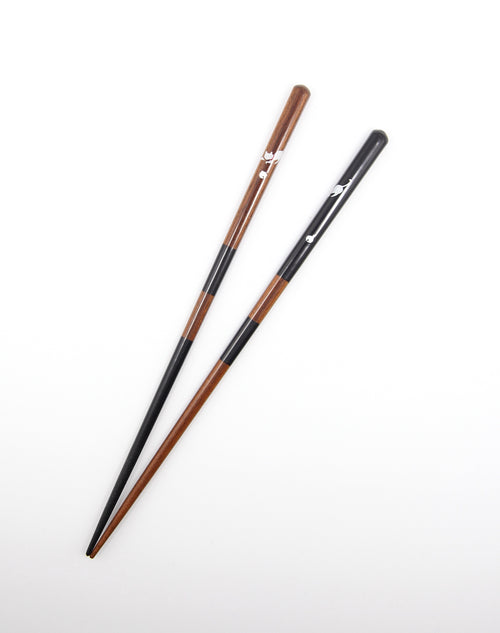 Chopstick Cat Black