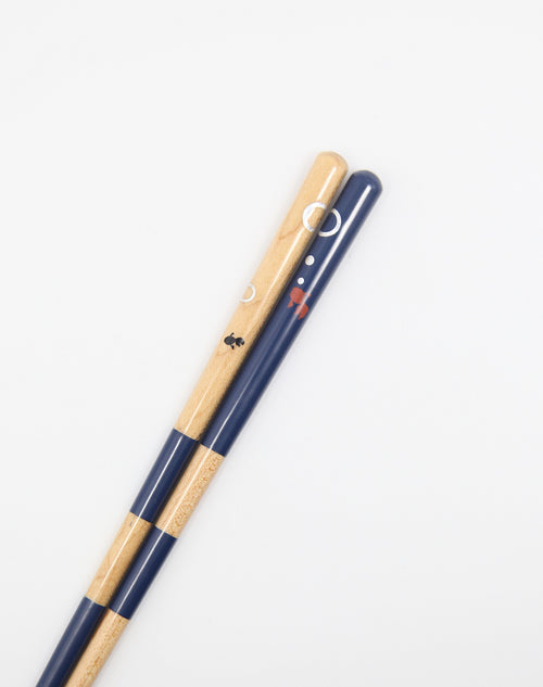 Chopstick Goldfish Blue