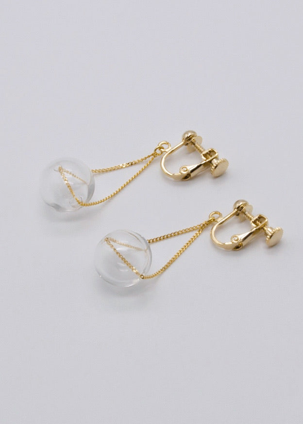 Clip-on Earring Bubble