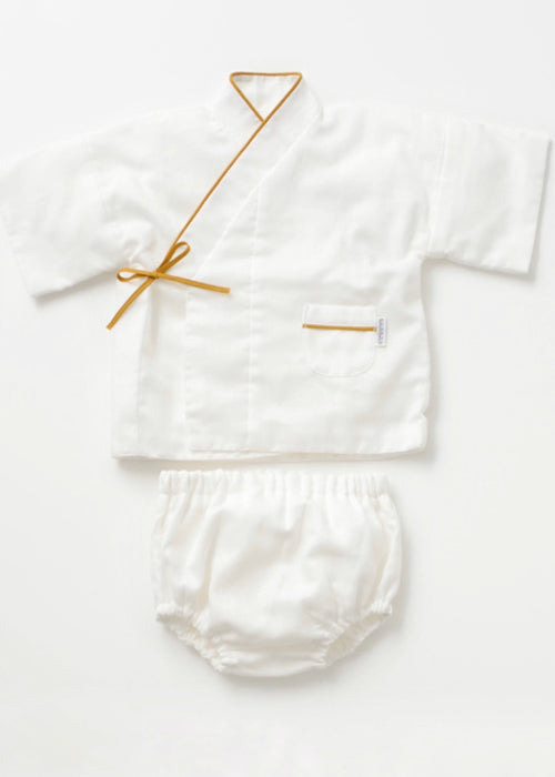 Triple Layered Gauze Baby Top and Pant Set