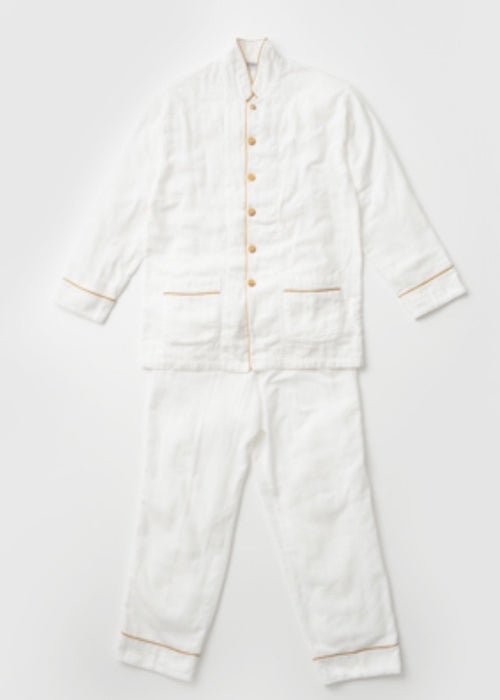 Layered Gauze Pajama Set Large