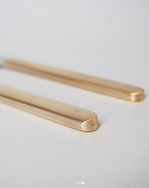 Cheese Knife-Brass