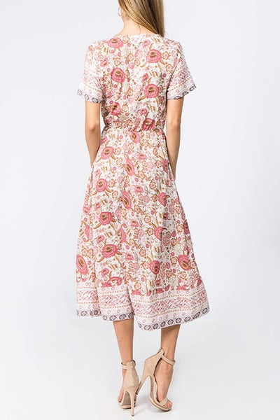 Shelby Floral Midi Dress