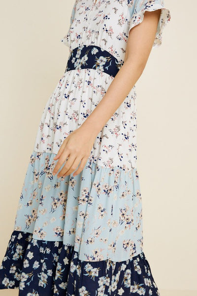 Lola Mixed Floral Dress