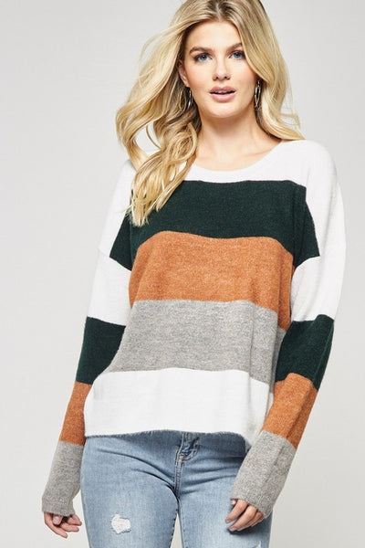 Whitney Colorblock Sweater