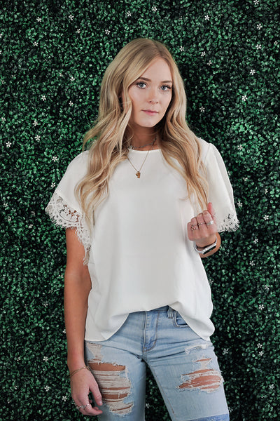 Kiss the Girl Lace Blouse
