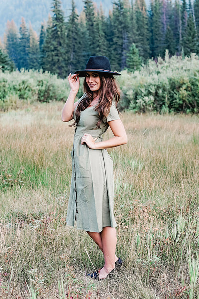 Willow Dress- Olive