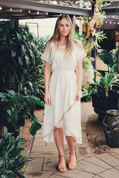 Sienna Embroidered Dress