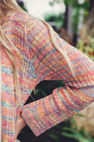 Over the Rainbow Duster Cardigan