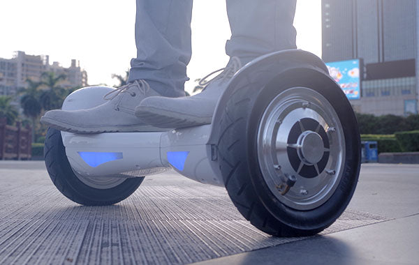 hoverboard side view
