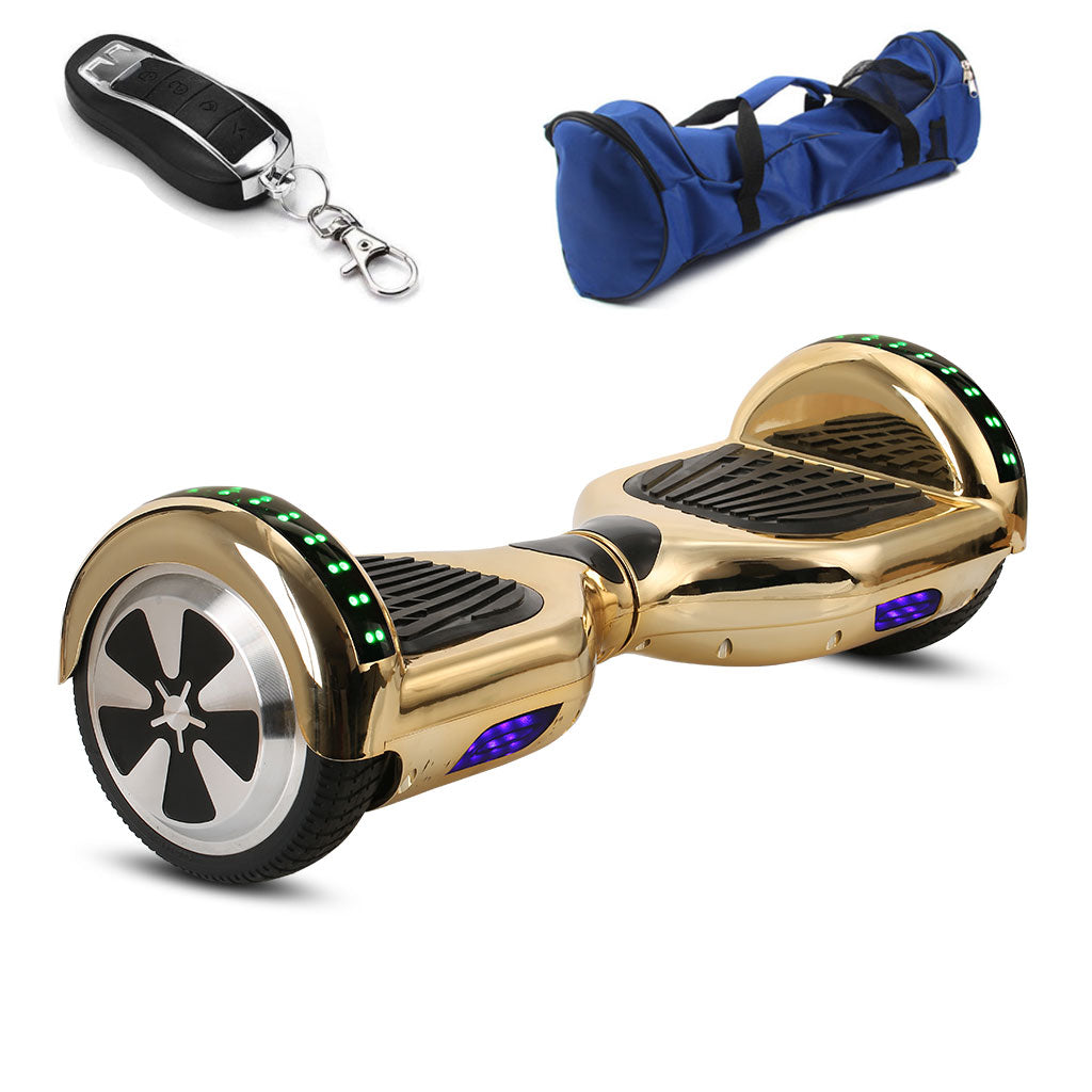 6 5 Inch Hoverboard On Sale With Bag Remote Controller And Pink Chro Hoverboardex