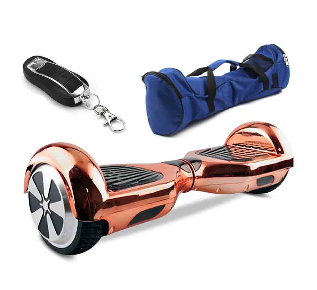 6 5 Quot Gold Hoverboard With Bluetooth Controller Amp Bag