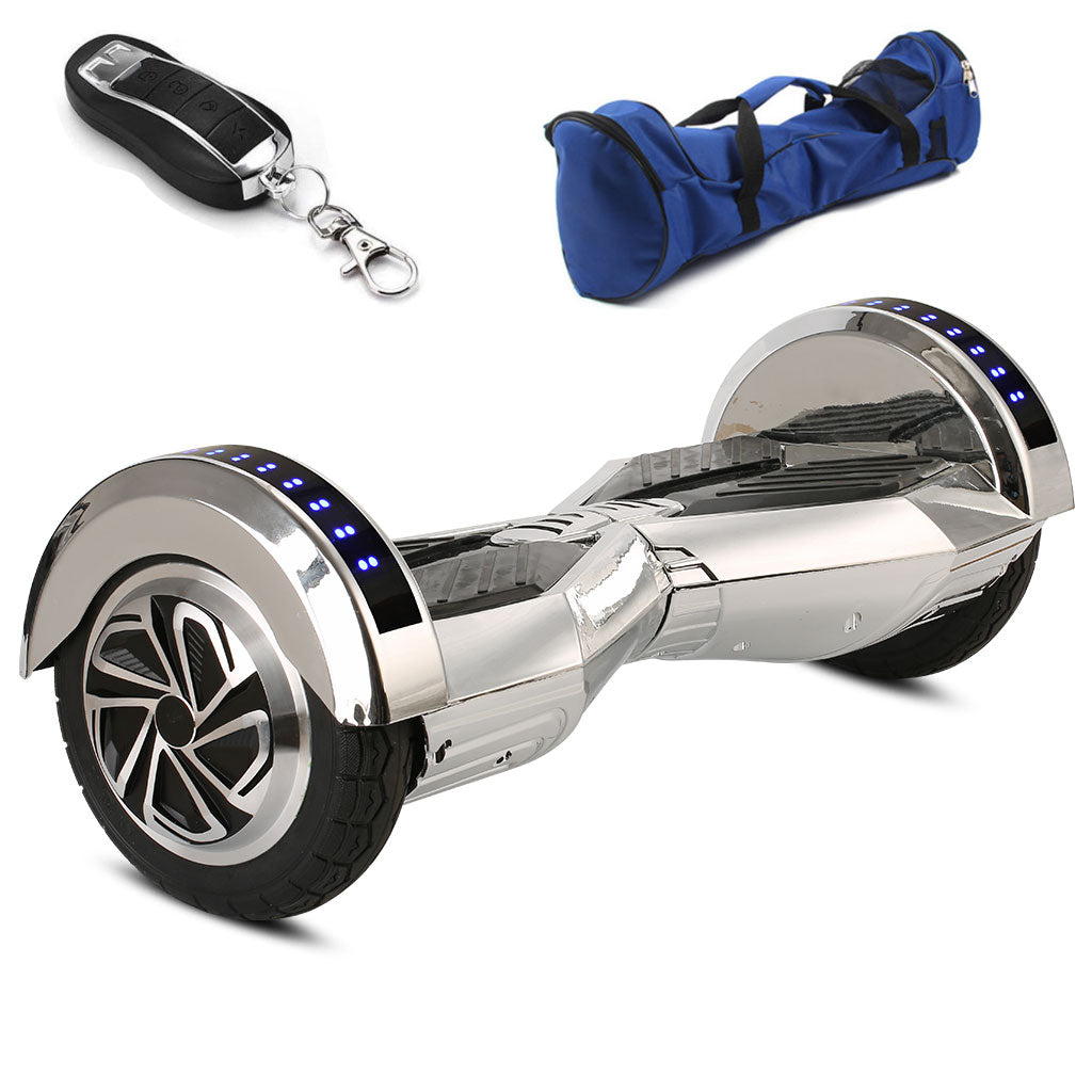 silver lamborghini hoverboard for sale with led lights and bag