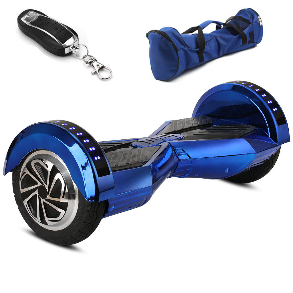 blue lamborghini hoverboard for sale with led lights and bag