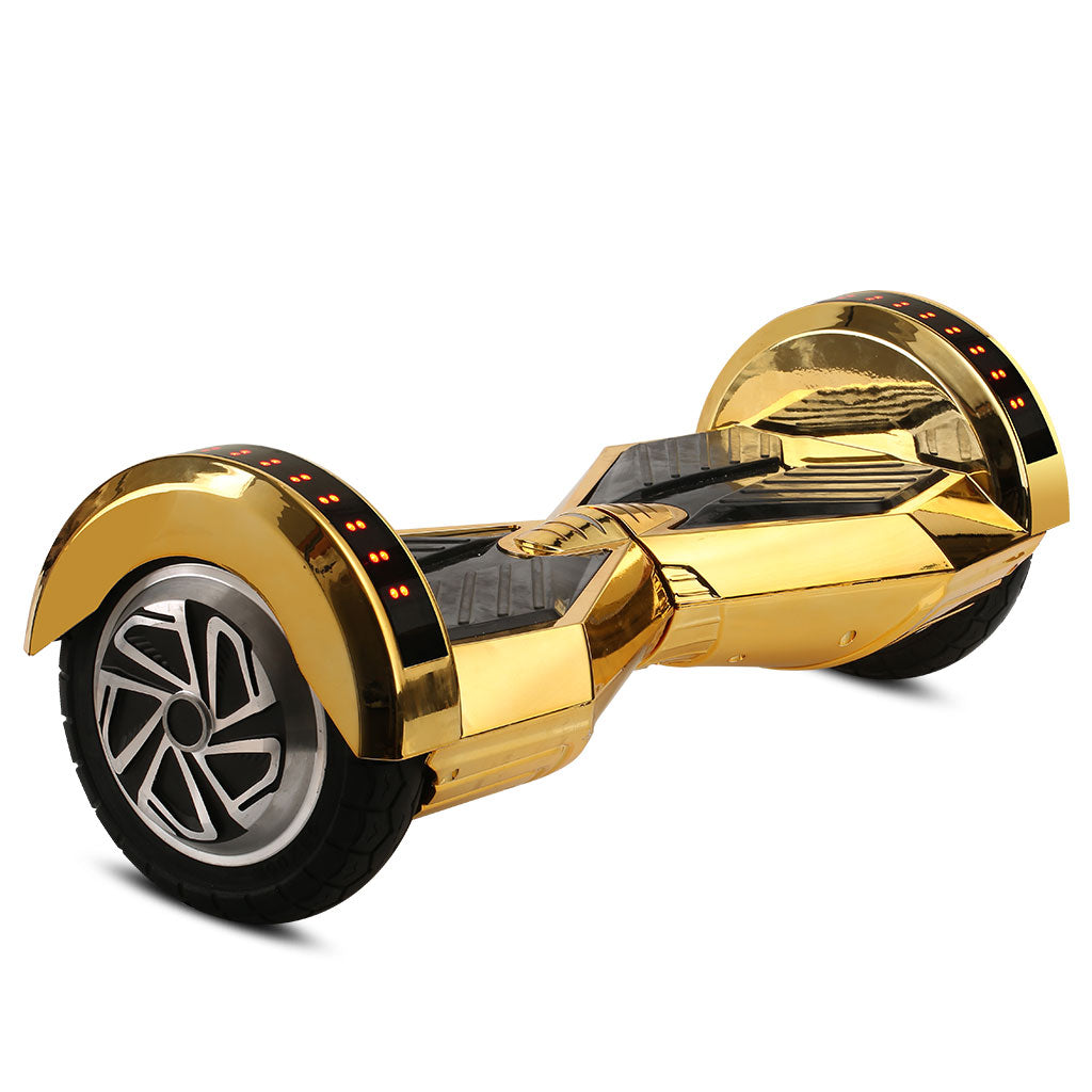 Silver Chrome Segway Hoverboard For Sale With Bluetooth Speaker Hoverboardex