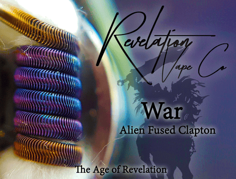 Revelation Vape Co. War (Alien Coil Set)