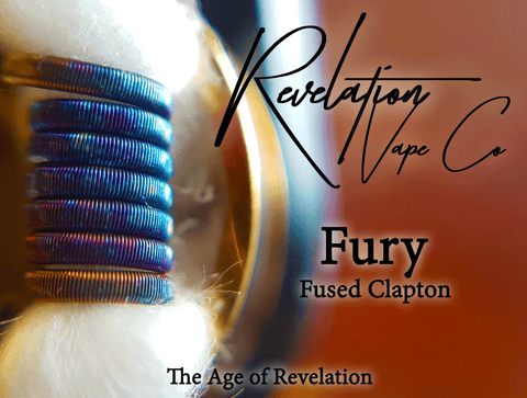 Revelation Vape Co. Fury (Fused Clapton Coil Set)