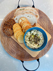 Vegan Dips - Green Olive Ricotta - Ju's Recipes - Vegan Pantry Brisbane