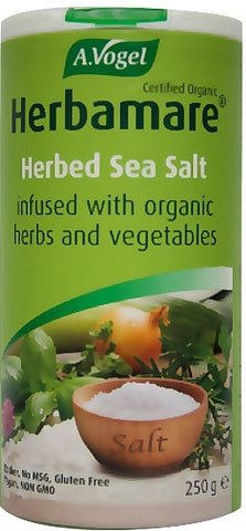A. Vogel Organic Herbamare Original Sea Salt GF 250g - Vegan Pantry Brisbane