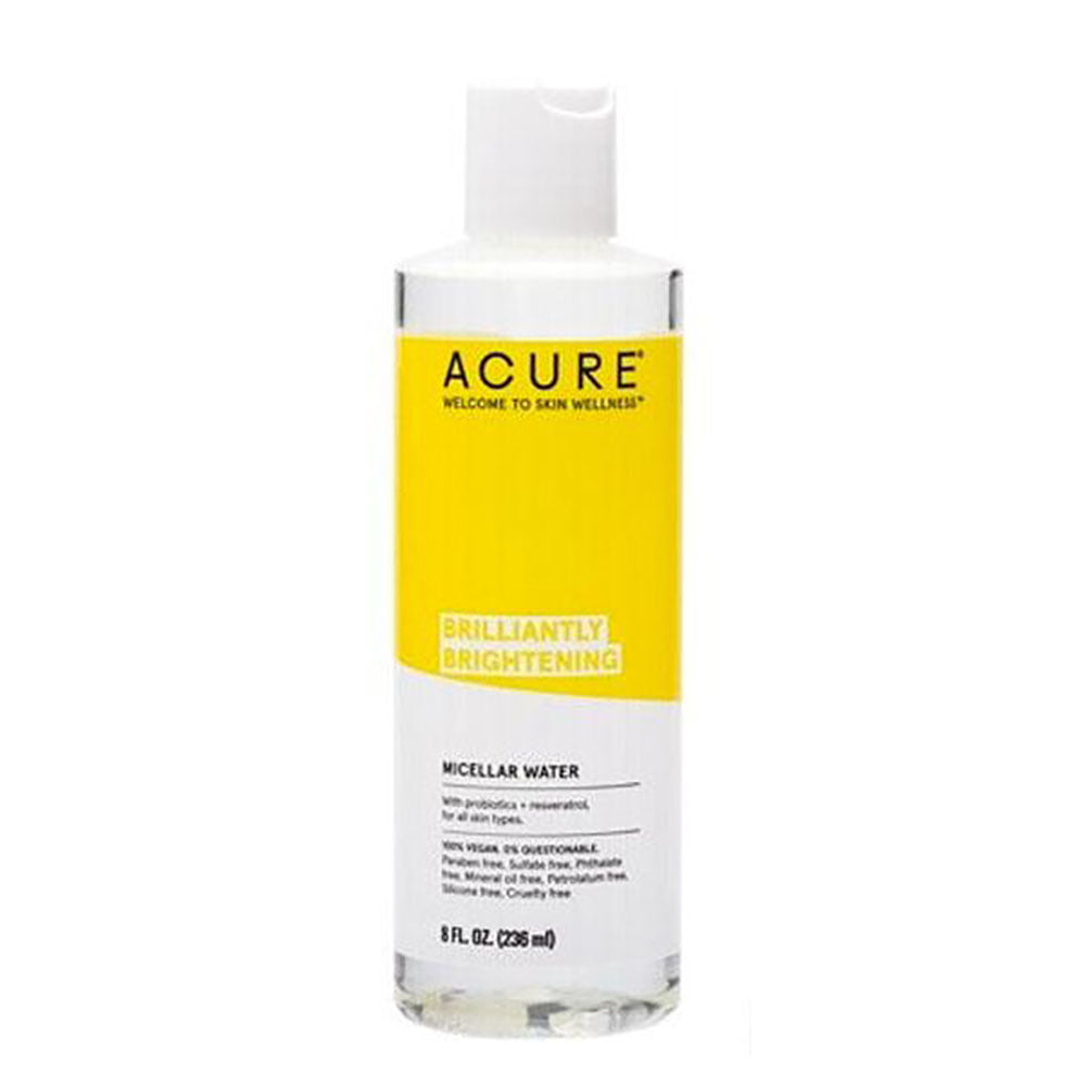 Acure Brilliantly Brightening Micellar Water 236ml - Vegan Pantry Brisbane