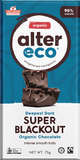Alter Eco Deepest Dark Super Blackout Organic Chocolate GF 75g – Vegan Pantry Brisbane