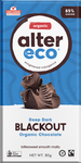 Alter Eco Deep Dark Blackout Organic Chocolate GF 80g – Vegan Pantry Brisbane