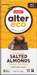 Alter Eco Deep Dark Salted Almonds Organic Chocolate GF 80g – Vegan Pantry Brisbane