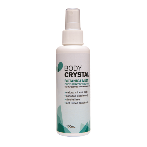 Body Crystal Botanica Mist 150ml - Vegan Pantry Brisbane