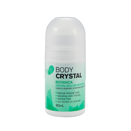Body Crystal Botanica Roll On 80ml - Vegan Pantry Brisbane