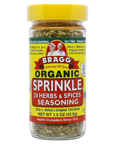 Bragg Seasoning Herbs & Spices Sprinkle GF 42g - Vegan Pantry Brisbane