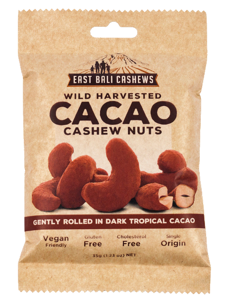 East Bali Cashews Cacao Cashew Nuts Wild Harvested 35g – Vegan Pantry Brisbane