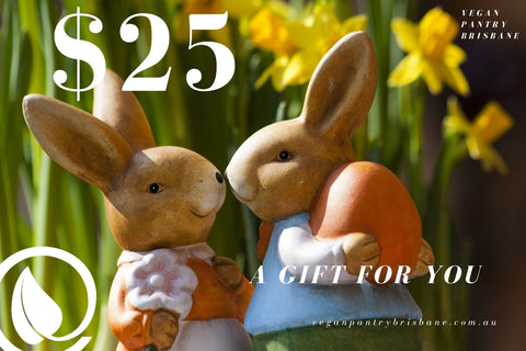 Easter Gift Card $25- Vegan Pantry Brisbane