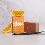 Ethique Solid Bodywash Bar Sweet Orange & Vanilla 120g - Vegan Pantry Brisbane