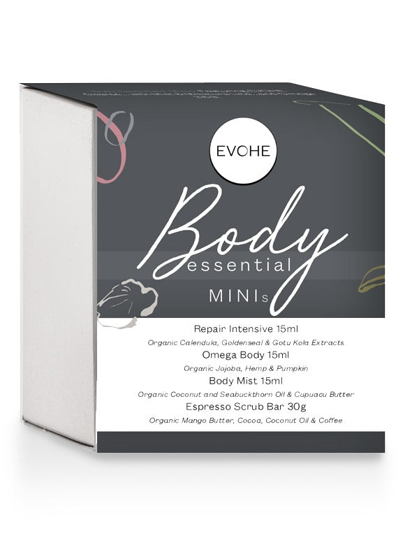 Evohe Body Essential Mini's - Vegan Pantry Brisbane
