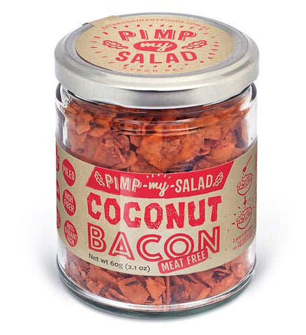Extraordinary Foods Pimp My Salad Coconut Bacon GF 60g - Vegan Pantry Brisbane