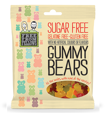 Free From Fellows Gummy Bears GF 100g - Vegan Pantry Brisbane