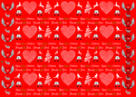 VPB Friends Not Food - Christmas wrapping paper 115g